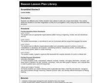 Scrambled Stories II Lesson Plan