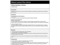 Selling, Spending, or Saving Lesson Plan