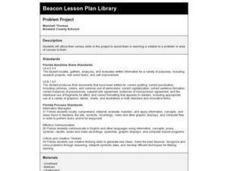 Problem Project Lesson Plan