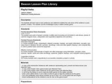 Playful Verbs Lesson Plan