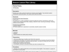 Partner Poetry Lesson Plan