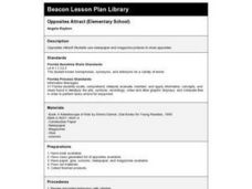 Opposites Attract (Elementary School) Lesson Plan