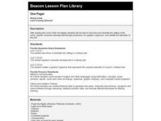 One Pager Lesson Plan