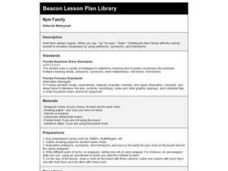 Nym Family Lesson Plan
