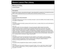 Memory of a Kiss Lesson Plan