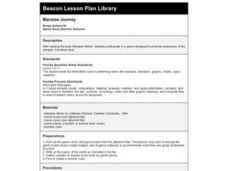 Manatee Journey Lesson Plan