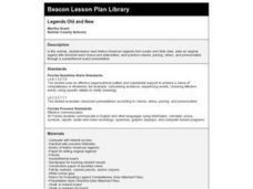 Legends Old and New Lesson Plan