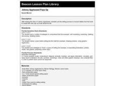 Johnny Appleseed Pops Up Lesson Plan