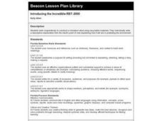 Introducing the Incredible RBT-2000 Lesson Plan