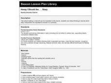 Honey I Shrunk the ... Story Lesson Plan