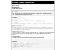 Holey Story Lesson Plan