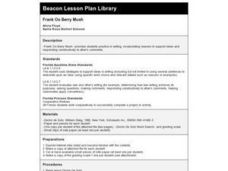 Frank Oo Berry Mush Lesson Plan