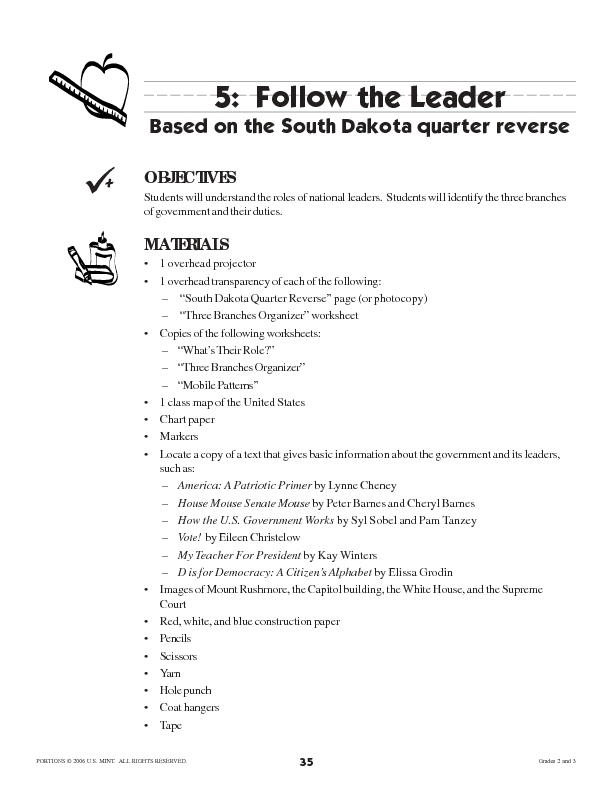 Follow the Leader! Lesson Plan