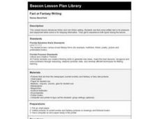 Fact or Fantasy Writing Lesson Plan