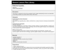 Elaborate Cupcakes Lesson Plan