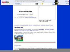 Many Cultures Lesson Plan