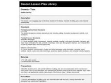 Dissect a 'Toon Lesson Plan