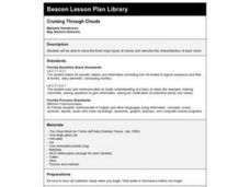 Cruising Through Clouds Lesson Plan
