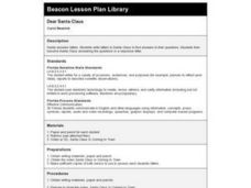 Dear Santa Claus Lesson Plan