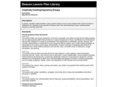 Creatively Creating Expository Essays Lesson Plan