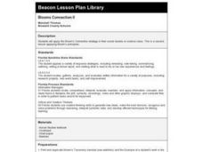 Blooms Connection II Lesson Plan