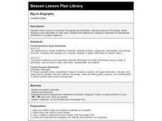 Big on Biography Lesson Plan