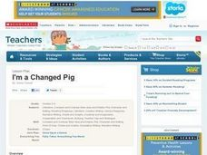 I'm a Changed Pig - Personal Narrative Lesson Plan