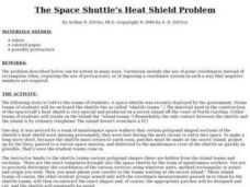 Space Shuttle's Heat Shield Problem Lesson Plan