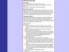 Sweet Tooth - Full Stops Lesson Plan