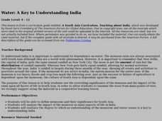 Water: A Key to Understanding India Lesson Plan