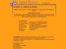 China & Japan Lesson Plan