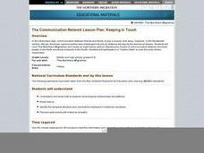 The Communication Network: Keeping in Touch Lesson Plan
