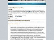 The Great Migration Internet Research Lesson Plan