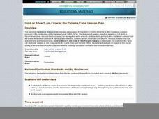 Gold or Silver? Jim Crow at the Panama Canal Lesson Plan