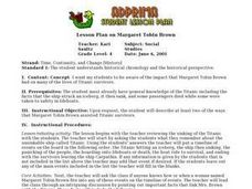 Lesson Plan on Margaret Tobin Brown Lesson Plan