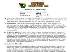 Crispus Attucks Lesson Plan