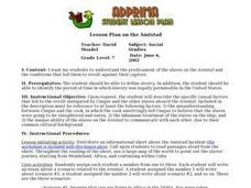 Amistad Lesson Plan