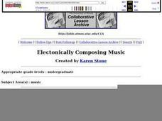 Electronically Composing Music Lesson Plan