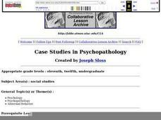 Case Studies in Psychopathology Lesson Plan