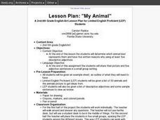 """My Animal"" Lesson Plan"