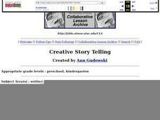 Creative Story Telling Lesson Plan
