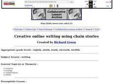 Creative Online Writing Using Chain Stories Lesson Plan