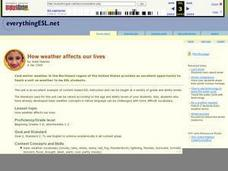 How Weather Affects Our Lives Lesson Plan