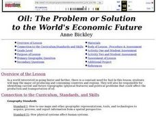 Oil: The Problem or Solution to the World's Economic Future Lesson Plan