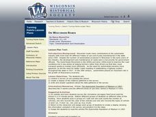 On Wisconsin Roads Lesson Plan