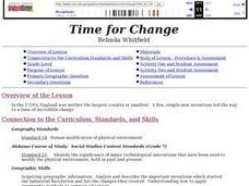 Time For Change Lesson Plan