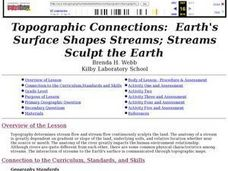 Topographic Connections: Earth's Surface Shapes Streams; Streams Sculpt the Earth Lesson Plan