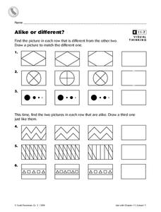 Alike and Different Lesson Plans & Worksheets Reviewed by