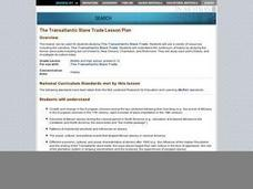 The Transatlantic Slave Trade Lesson Plan Lesson Plan