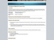 The Western Migration Lesson Plan Lesson Plan